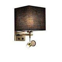 Moderne Nacht Wand Lampe Stoff Tuch Wand Lampe Schaukel Arm E27 LED Wand Leuchte Licht für Schlafzimmer Aisle Korridor Hotel dekor Kunst-in LED-Innenwandleuchten aus Licht & Beleuchtung bei