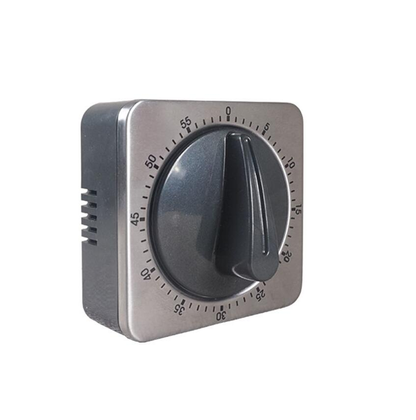 Mechanical Kitchen Timer ABS Stainless Steel Wall Safe Combination Manual  Safe Lock Alert Timer Reminder 60 Minutes [ 1 Pc ] In Kitchen Timers From  Home ...