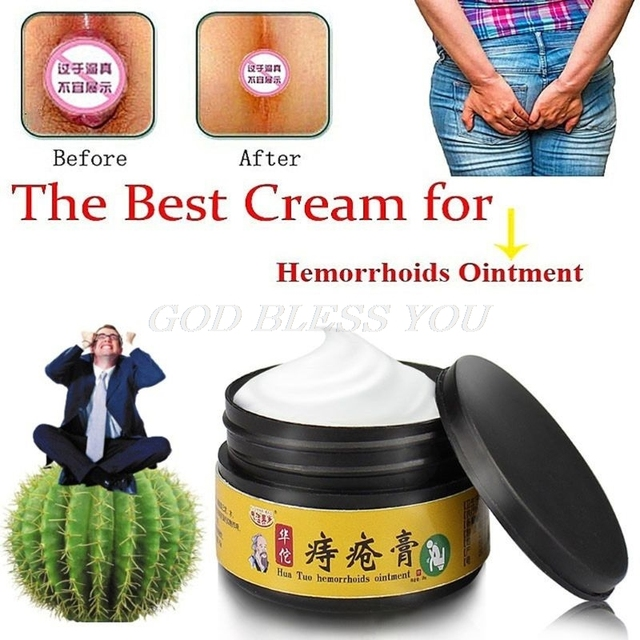 25g Chinese Herbal Extracts Hemorrhoids Cream Ointment Internal External Piles Drop Shipping