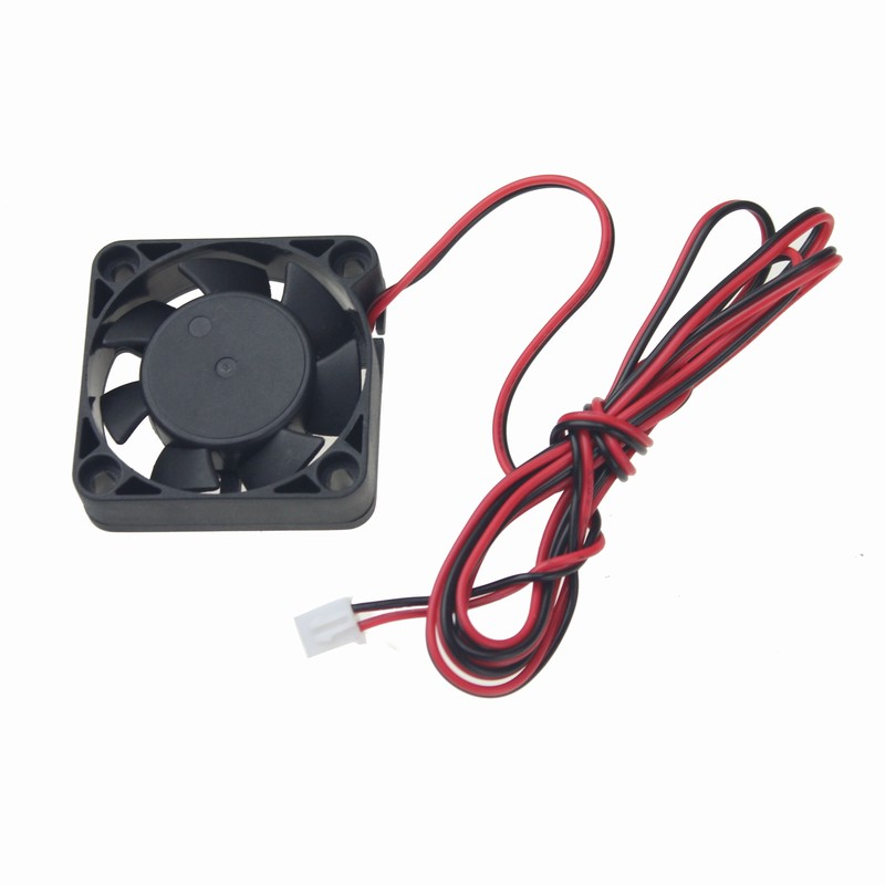 цены на Gdstime 2 Pieces DC 24V 40mm 3D Printer Fan 40x40x10mm Ball Bearing 40 inch Cable Cooling Cooler Fan в интернет-магазинах