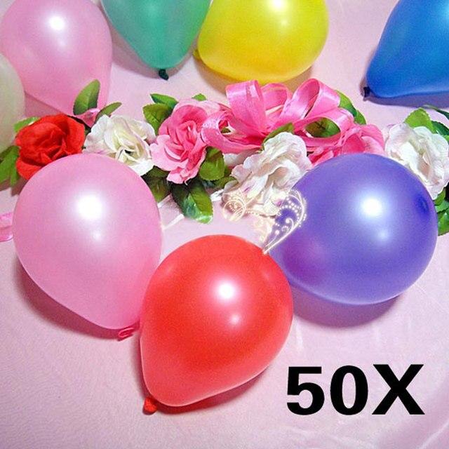 50pcs 25 inch Balloons Wedding Birthday Party Pearl Latex