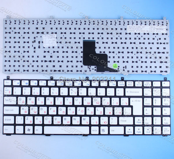 Russian Laptop Keyboard for Casper W765S DNS 0123975 MP-08J46SU-4301 6-80-W76S0-281-1 CLEVO PHILCO 15A SIM2000 laptop keyboard