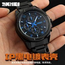brand watches quartz steel band relogio masculino mens fashion waterproof High Quality Sport Luxury Flameless Quartz-Watch