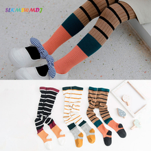 SLKMSWMDJ Spring Autumn Tights New Childrens Pantyhose Cotton Girls Kid Infant Baby Knitted Collant Soft Clothing