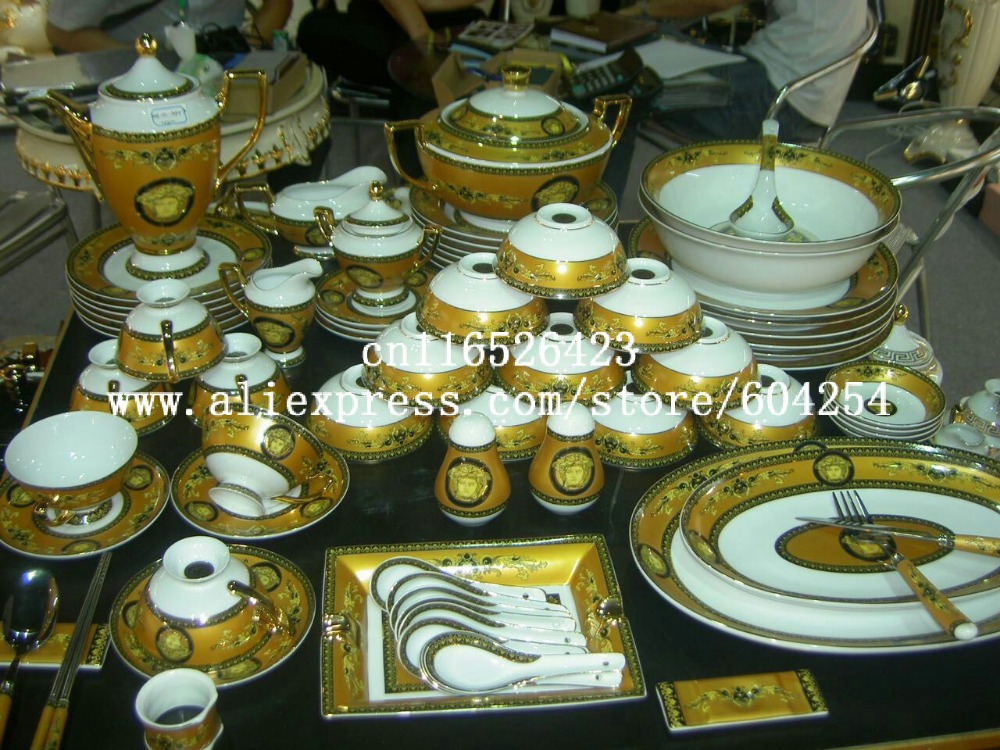 Online Buy Wholesale royal dinner set from China royal ...