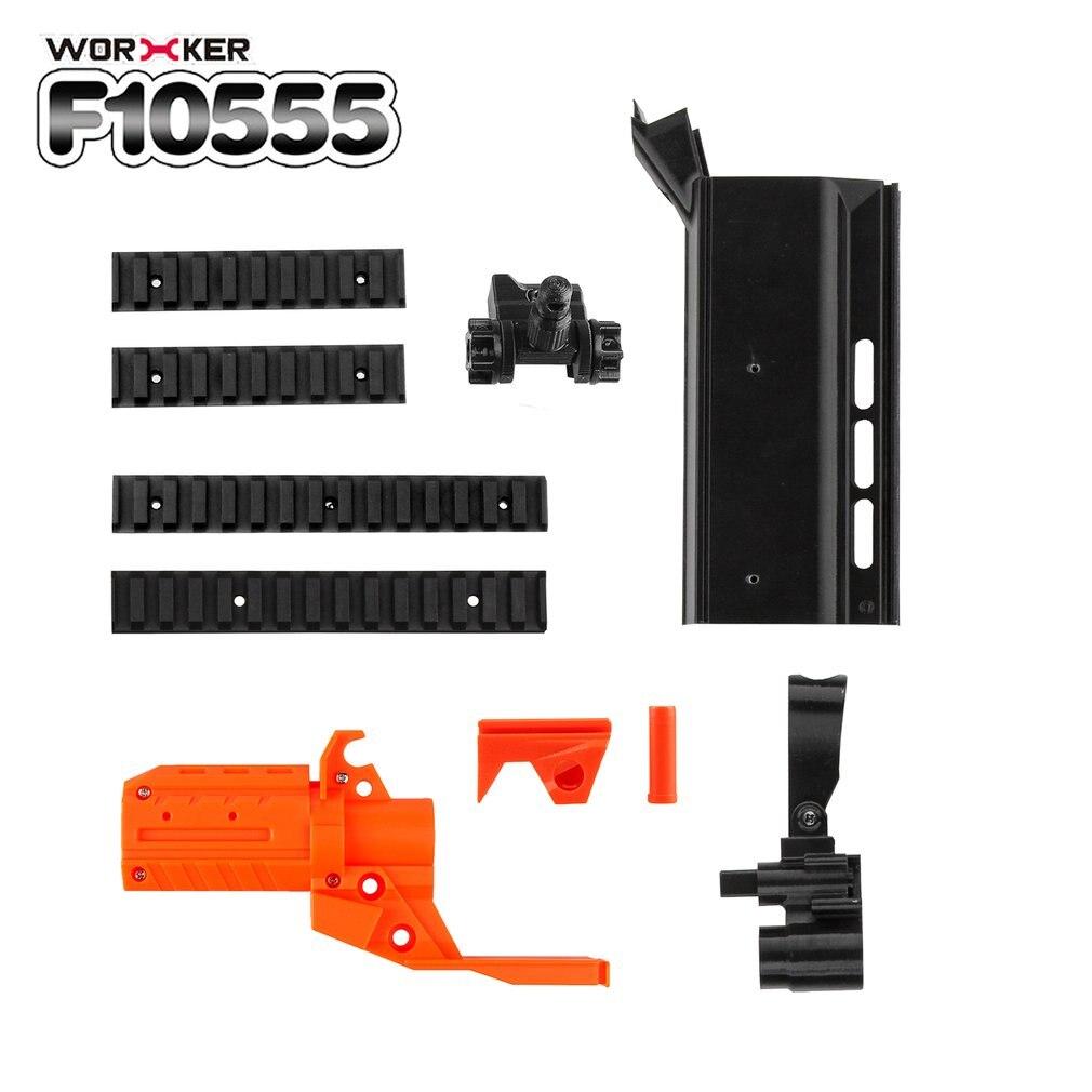 TRAVAILLEUR No 152 STF 3D Impression Modulaire Kit De Baril pour Nerf Stryfe Pistolet Jouets Léger Cadeau Jouets pour Les Joueurs