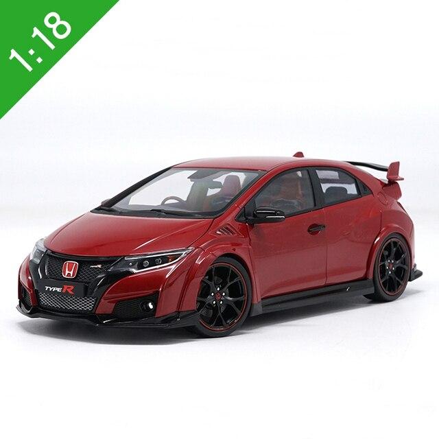 1/18 Todos Os Novos Ebbro Honda Civic Type R Alloy Diecast Modelo De Carro