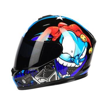 Motorcycle Helmet Flip Up Motorbike Helmet With Inner Sun Visor Double Lens Modular Motocross Full Face Helmet Capacete Casco