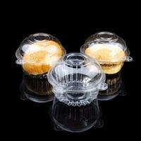100/200PCS Chocolate Paste 3d Wedding Cake Gift Craft Plastic Mold For Fondant Gum