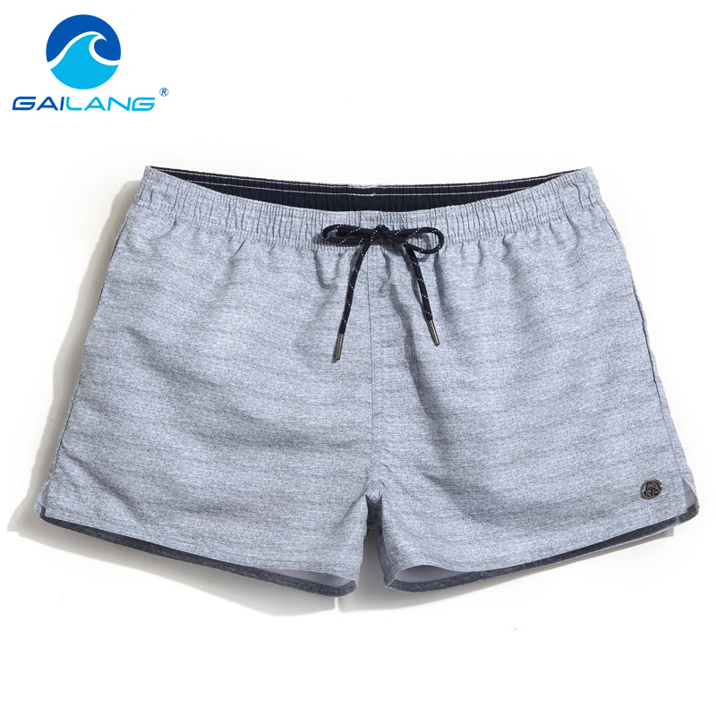 Gailang Brand 2017 New Summer Men Beach Shorts Board Jogger Casual Boxer Trunks Quick Drying Swimwear Swimsuit Plus Size Shorts