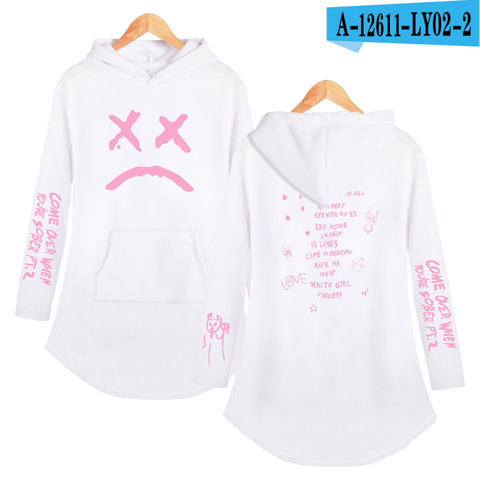 lil peep love Hoodies Sweatshirt Classic K Pop Personality Casual Sport shirt Pocket Summer Autumn Long sleeve Streetwear 19