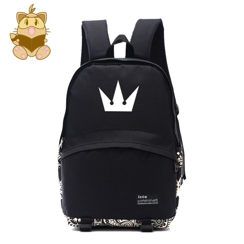d5b17ceba37 Detail Feedback Questions about Kingdom hearts Logo printing nylon backpacks  game fans daily use backpack gift for gamer NB033 on Aliexpress.com