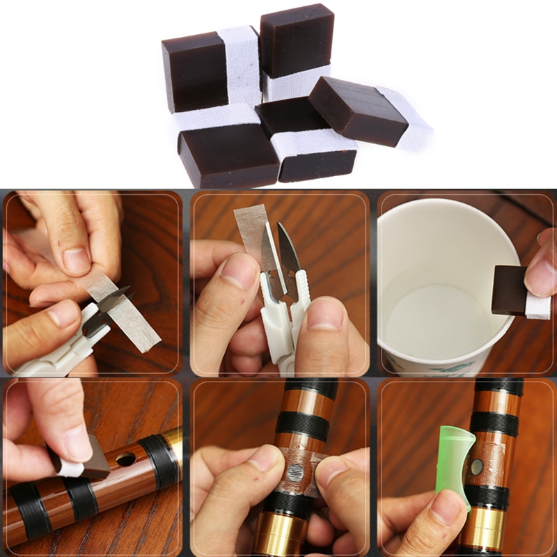 Solid Flute Diaphragm Glue for Traditional Bamboo Metal Flute Chinese Dizi Parts