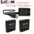 2 pcs baterias bateria recarregável + carregador duplo para sjcam sj6 sj6 lenda ação esporte câmera acessórios