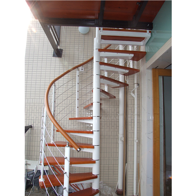 One Stop Building Materials Exterior Customized Wood Treads Spiral | Spiral Staircase Wood Treads | Arke | Design | Checker Plate | Platform Stair | Aluminum