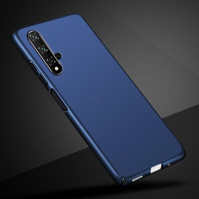 "Case For Huawei Nova 5T Phone Case Thin PC Hard Plastic Back Cover for Huawei Nova 5T 5 T YAL-L21 Nova5T Full Cover Bumper 6.26"""
