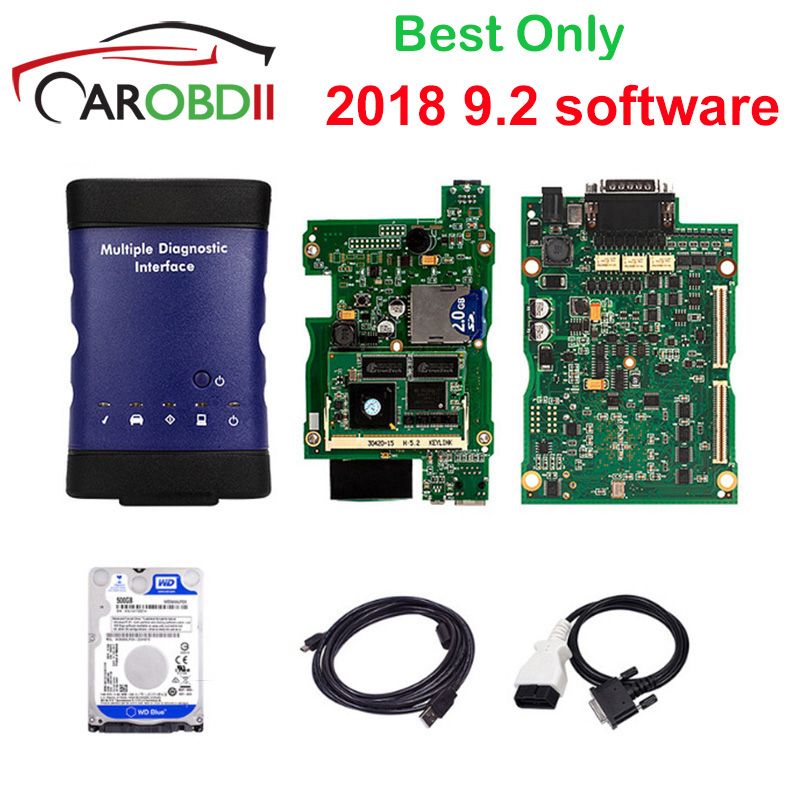 2019 V2018 9.2 New for GM MDI Multiple Diagnostic Interface For GM MDI WIFI Multi Language For GM MDI Scanner as vxdiag for gm