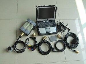 Diagnóstico de estrella mb c3 con pantalla táctil de cf-19 toughbook para ordenador portátil con Nuevo software de supervelocidad ssd listo para usar