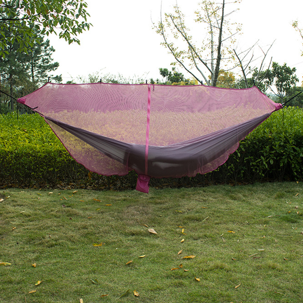 Image 2 - Ultralight Hammock Mosquito Net Outdoor Camping Breathable Anti Mosquito Mesh Tent Net-in Tents from Sports & Entertainment