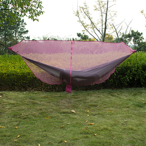 Image 2 - Ultralight Hammock Mosquito Net Outdoor Camping Breathable Anti Mosquito Mesh Tent Net
