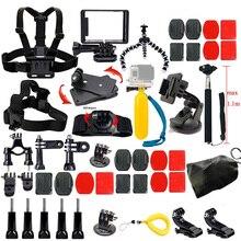 Gopro Camera Accessories Kit for Gopro Hero 5 4 3 4 Session 5 Session SJCAM SJ4000 SJ5000 Xiaoyi 4K M10 M20 Action Video Camera