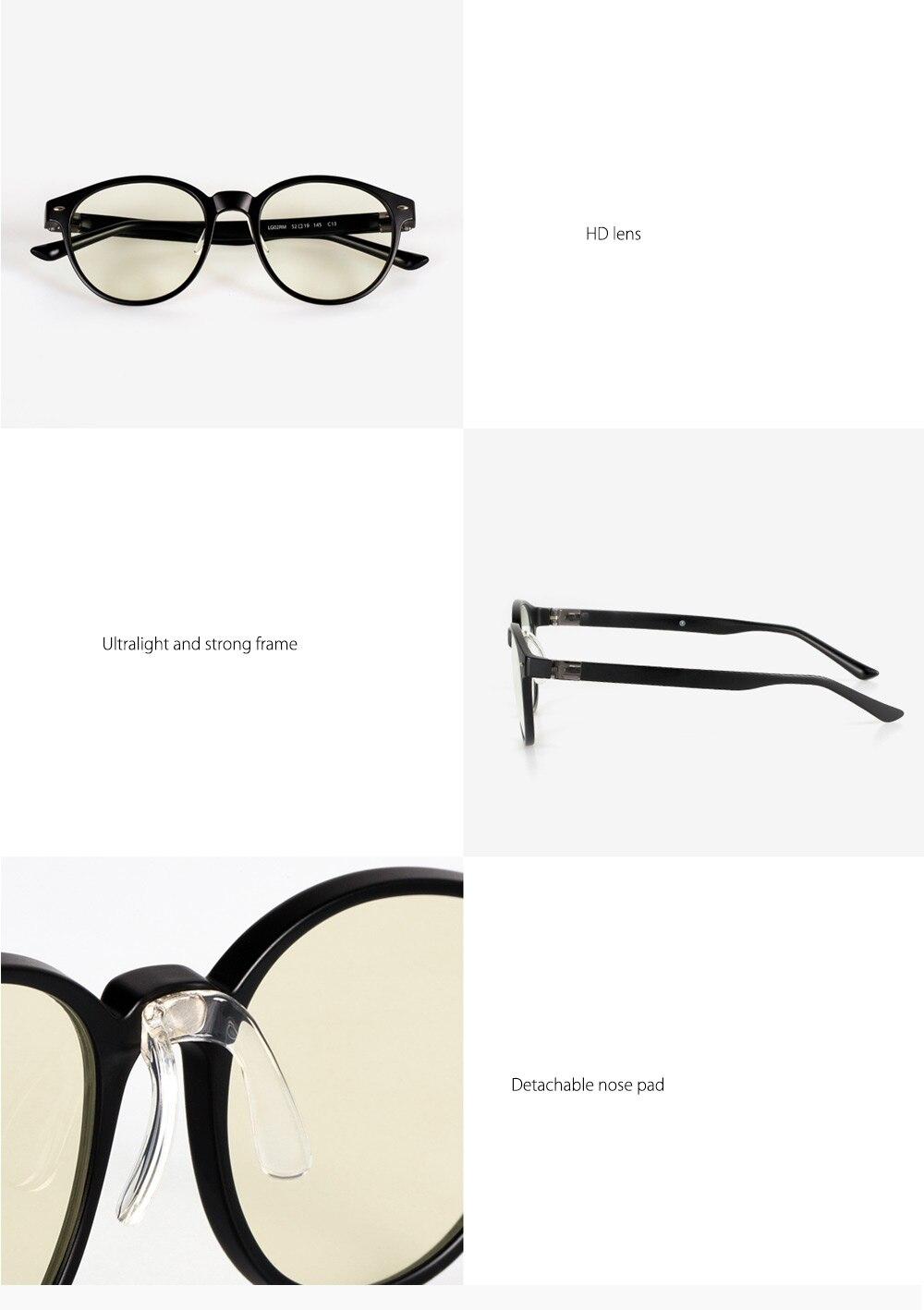 Xiaomi Mijia ROIDMI B1 protecteur oculaire amovible Anti-rayons bleus pour homme femme jouer au téléphone/ordinateur/jeux/W1 - 3