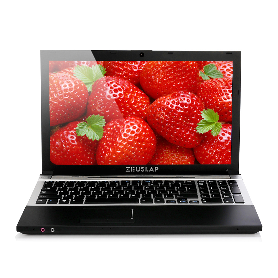 15.6inch Intel Core I7 CPU 8GB RAM 2000GB HDD 1920*1080P FHD WIFI Bluetooth With DVD-ROM Notebook Computer PC Laptop