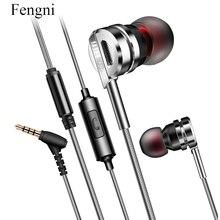 Fone de ouvido fone de ouvido 3.5mm de Ouvido auriculares Super Clear Isolamento de Ruído de Microfone MP3 MP4 audifonos fone de ouvido para iphone xiaomi