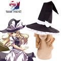 Free Shipping Touhou Project Kirisame Marisa Maid Hat Anime Cosplay Accessories