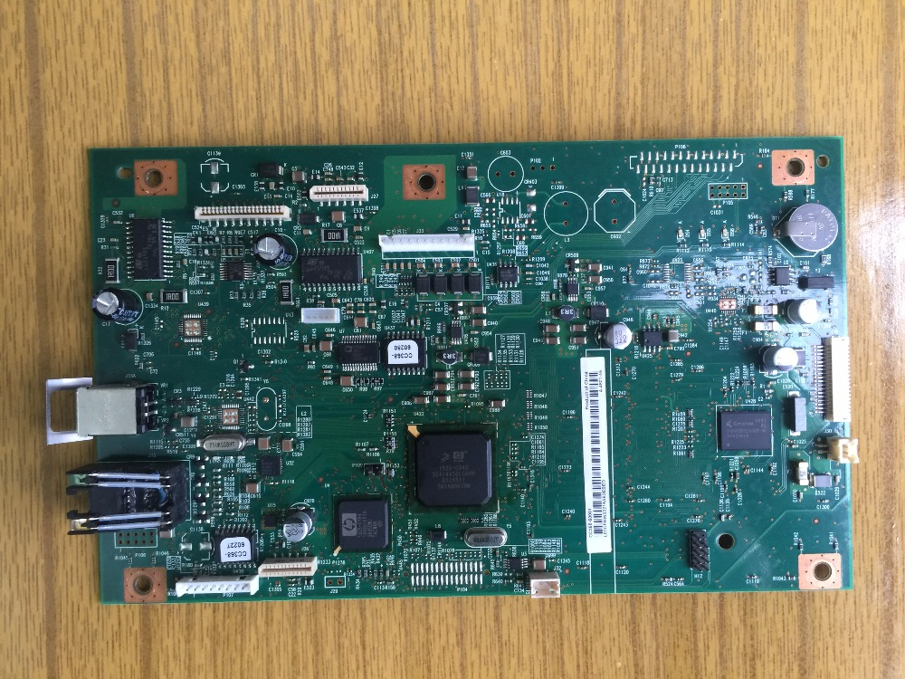 Free shipping 100% tested Formatter board for HP LJ 1522NF CC368-60001 mainboard WITH FAX BOARD free shipping 100% tested cb405 60001 formatter board for hp 4345 4345mfp main board motherboard