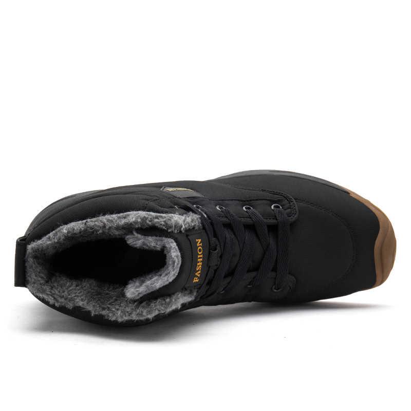 EOFK Yeni Varış Moda Kadın Kar Botları Kış sıcak Kısa Peluş kadın botları Su Geçirmez yarım çizmeler düz ayakkabı 35-41