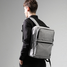 цены Man Backpack Fit 15.6 inch Laptop Multi-layer Space Travel Male Bag Mochila Leisure Multifunction Shoulder Bag Business Bags