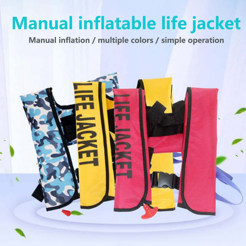 Adult Swiming Fishing Life  Inflatable Life Jacket Swimming Fishing Life Vest Rescue Vest Buoyancy Swimwear kayak Life JacketAdult Swiming Fishing Life  Inflatable Life Jacket Swimming Fishing Life Vest Rescue Vest Buoyancy Swimwear kayak Life Jacket