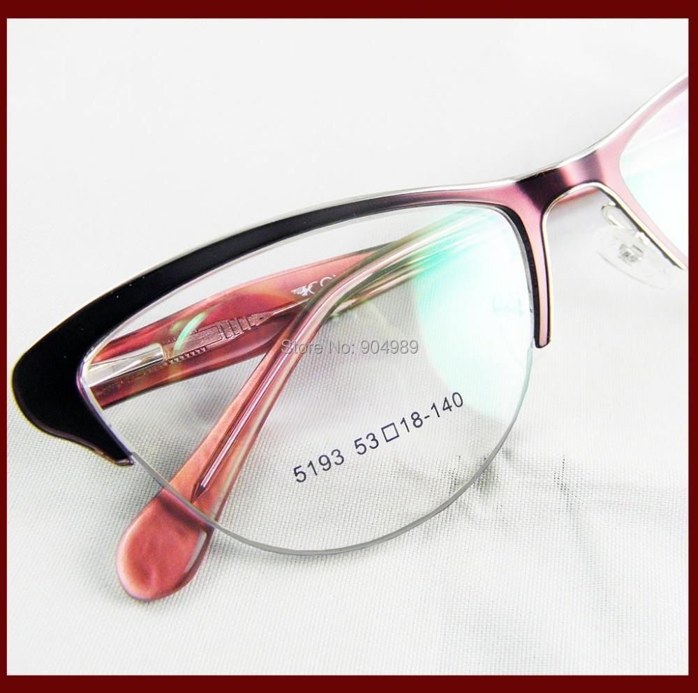 Ojo de gato marcos de anteojos mujeres RX prescripción óptica de ...