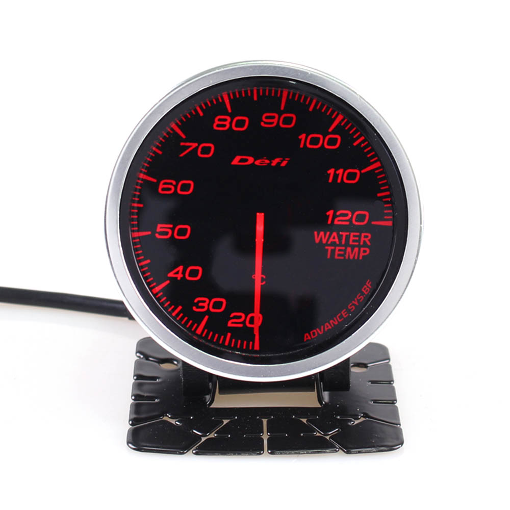 Fast Deliver 80mm Car Digital Tachometer Defi Rpm Gauge Universal Car Stepper Motor Bf Tacometro Meter Blue White Led Shift Light Auto Gauge Tachometers