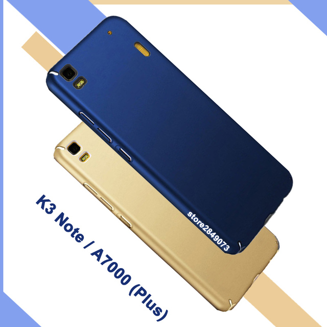 new concept b99bd ce6cf US $4.99 |Lenovo k3 note k50 case matte protective back cover lenova A7000  full body cover ultra thin case For A 7000 Lenovo A7000 Plus on ...