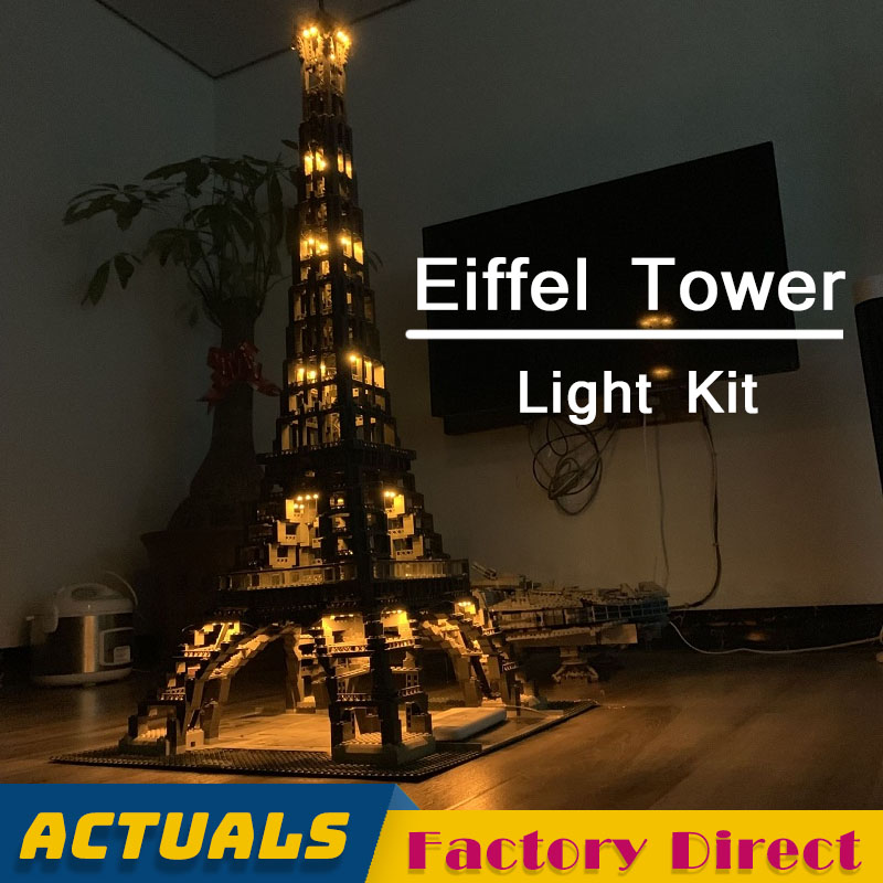 LED Light Kit Only Eiffel Tower 17002 Without Building Blocks Toys Bricks France Famous Construction Display LegoINGlys 10181LED Light Kit Only Eiffel Tower 17002 Without Building Blocks Toys Bricks France Famous Construction Display LegoINGlys 10181
