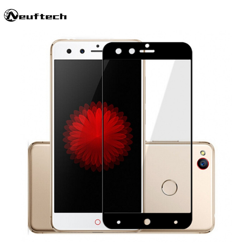 2.5D 9H Full Cover Tempered Glass For ZTE Nubia Z17 Mini S Screen Protector Toughened Protective Glass Film for nubia Z11 mini S