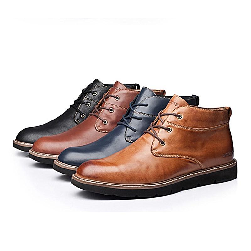 Zapatos Primavera Verano Hombre Cómodo De Genuino Respirable Cordones Casual Vintage Para 43 Eg Cuero Hecho A Brown Pantshoes Marrón Mano rrvgFqw