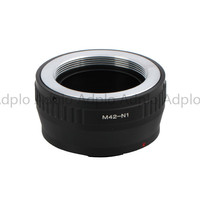Pixco Adjustable Lens Adapter Work For M42 42mm Mount Lens To Nikon 1 AW1 J3 J2