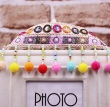 цена на 1Yard/Lot Ethnic Tassel Embroidery Lace Trim Boho Handmade Sewing Tassel Silk Tassel Fringe Trim Clothes Accessories Fabric Lace