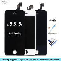 Mobymax LCD Display Digitizer For IPhone 4s 5s Touch Screen Replacement Assembly For Iphone 6 6s