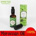 IMMETEE Cuidado Del Cabello 50 ml Puro aceite de Argán Marroquí Tratamiento de Aceite de Pelo Para El Cabello Seco de Los Tipos de Cabello y Tratamiento Del Cuero Cabelludo