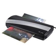 A4 Laminator fotograficzny papier Film dokumentu termiczna Hot i Laminator na zimno A4 Plastificadora Termolaminar maszyna do laminowania (ue usa wtyczka)