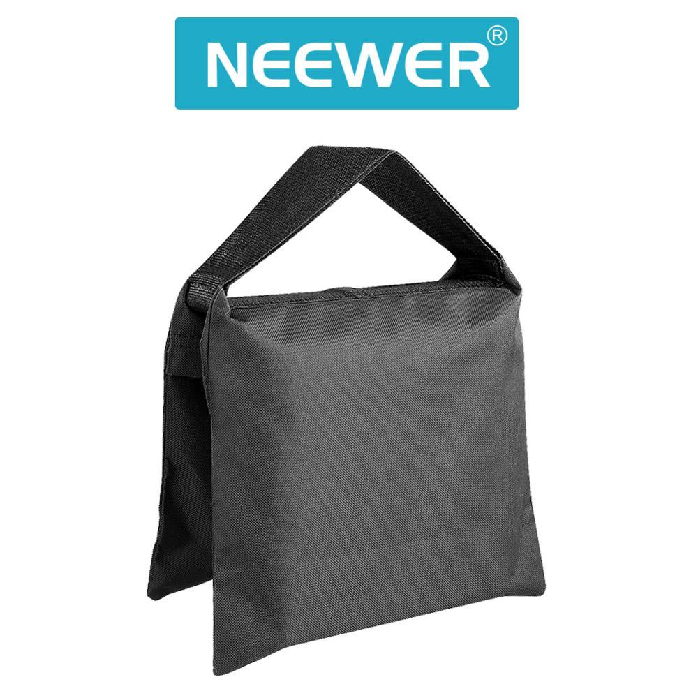 Neewer sac de sable photographique robuste Studio sac de sable vidéo pour supports de lumière, support de flèche, trépied (paquet de 8)