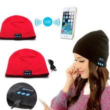 Fashion Warm Hat Mini Wireless Speaker Bluetooth Receiver Audio Music Speaker Bluetooth Hat Cap Headset Headphone