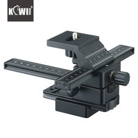 KIWIFOTOS FC 1 CLOSE UP 4 WAY MACRO FOCUSING RAIL SLIDER FOR CANON FOR NIKON FOR SONY FOR PENTAX DSLR CAMERA CAMCORDER