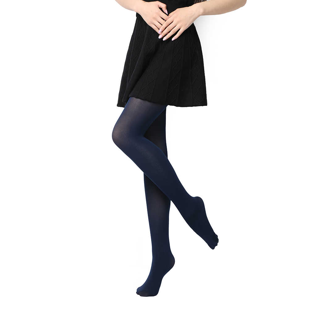 a6f02fcc1 ... 2019 Hot Classic Sexy Women 120D Opaque Footed Tights Pantyhose Thick  Tights Stockings Women Spring Summer ...