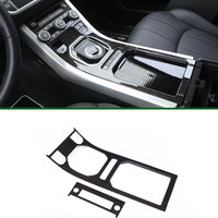 Newest For Land Rover Range Rover Evoque ABS Center Console Gear Panel Chrome Decorative Cover Trim
