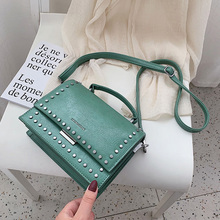 где купить Ladies Hand Bags Mini Chain Crossbody Bags for Women 2018 Fashion Leather Shoulder Messenger Bag Female Rivet Flap Tote Bolsas по лучшей цене